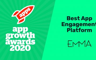 EMMA finalista en los App Growth Awards por 2º año consecutivo
