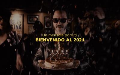"""""""Bienvenido al 2021"""", un mensaje para ti"""