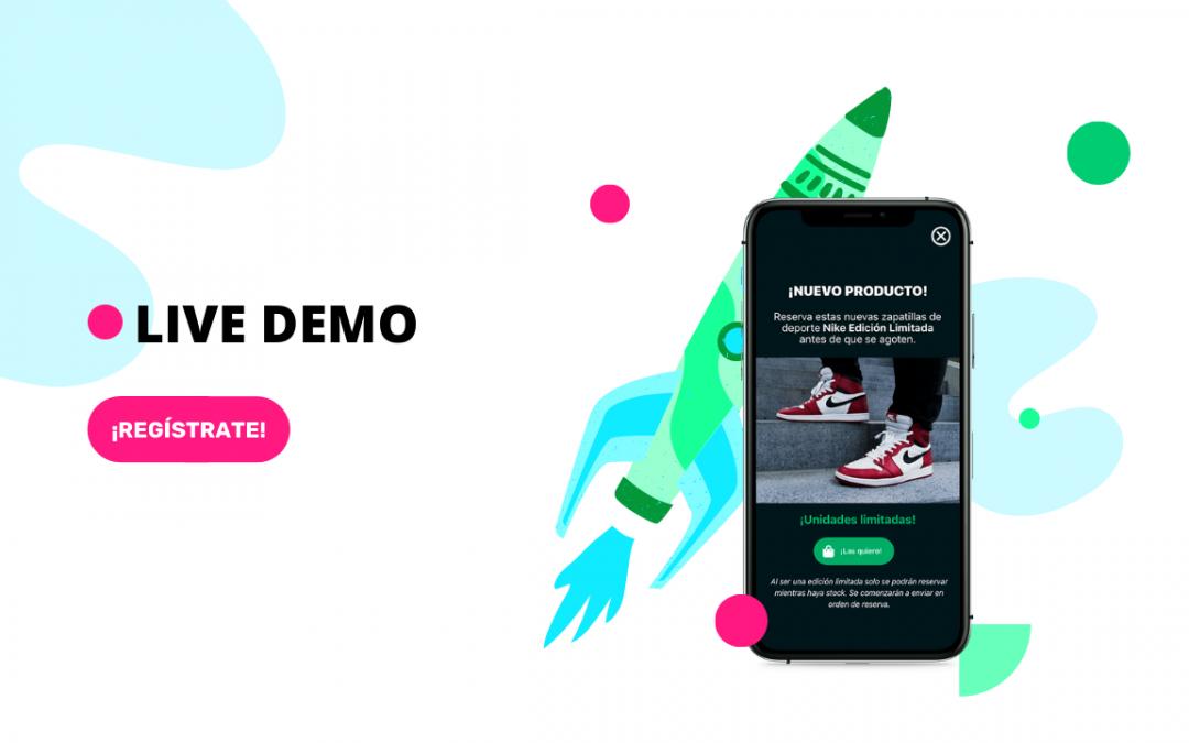 Regístrate en una nueva #LiveDemo: Formatos In-App