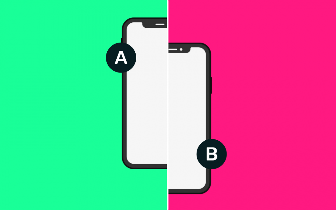 Test A/B de pantalla para aplicaciones móviles